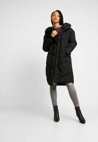 Noisy May - NMTALLY LONG JACKET - Winter coat - black - 1