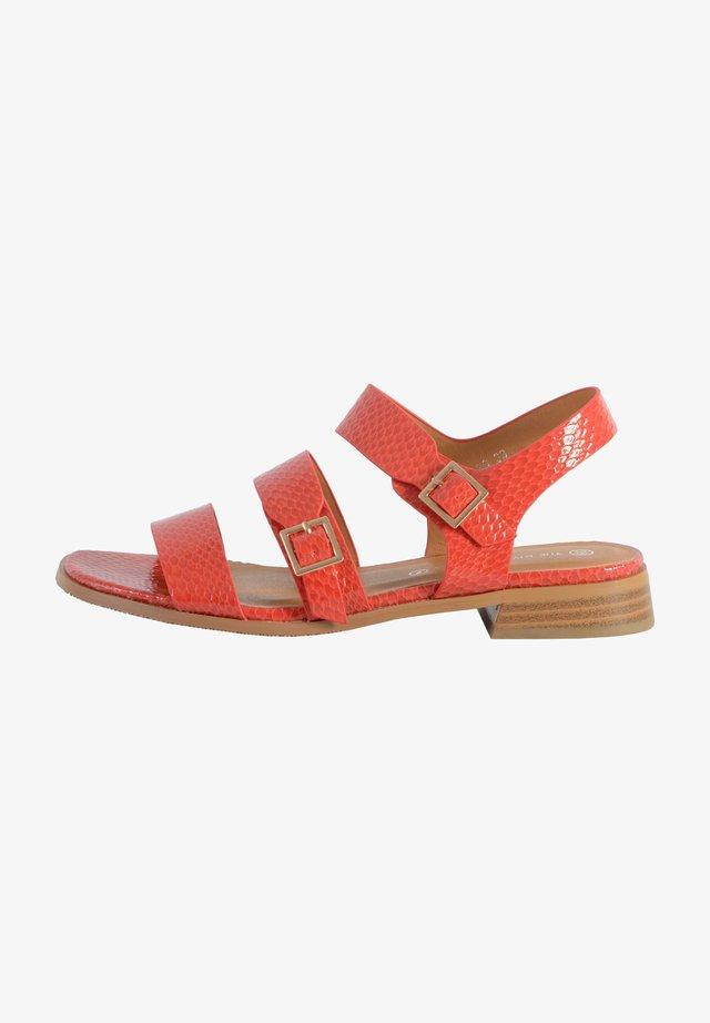Sandales - corail