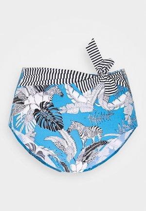 TULUM BEACH - Bikini bottoms - blue