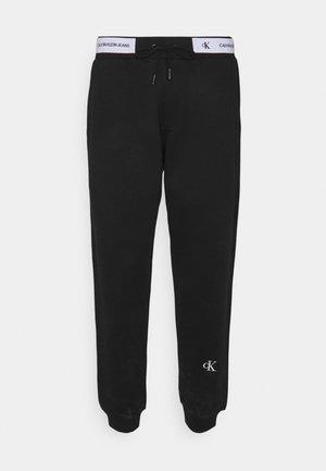 TAPE TRACK PANT - Træningsbukser - black