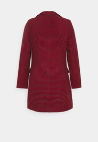 Missguided - DOGTOOTH BLAZER DRESS - Vestido informal - red - 1