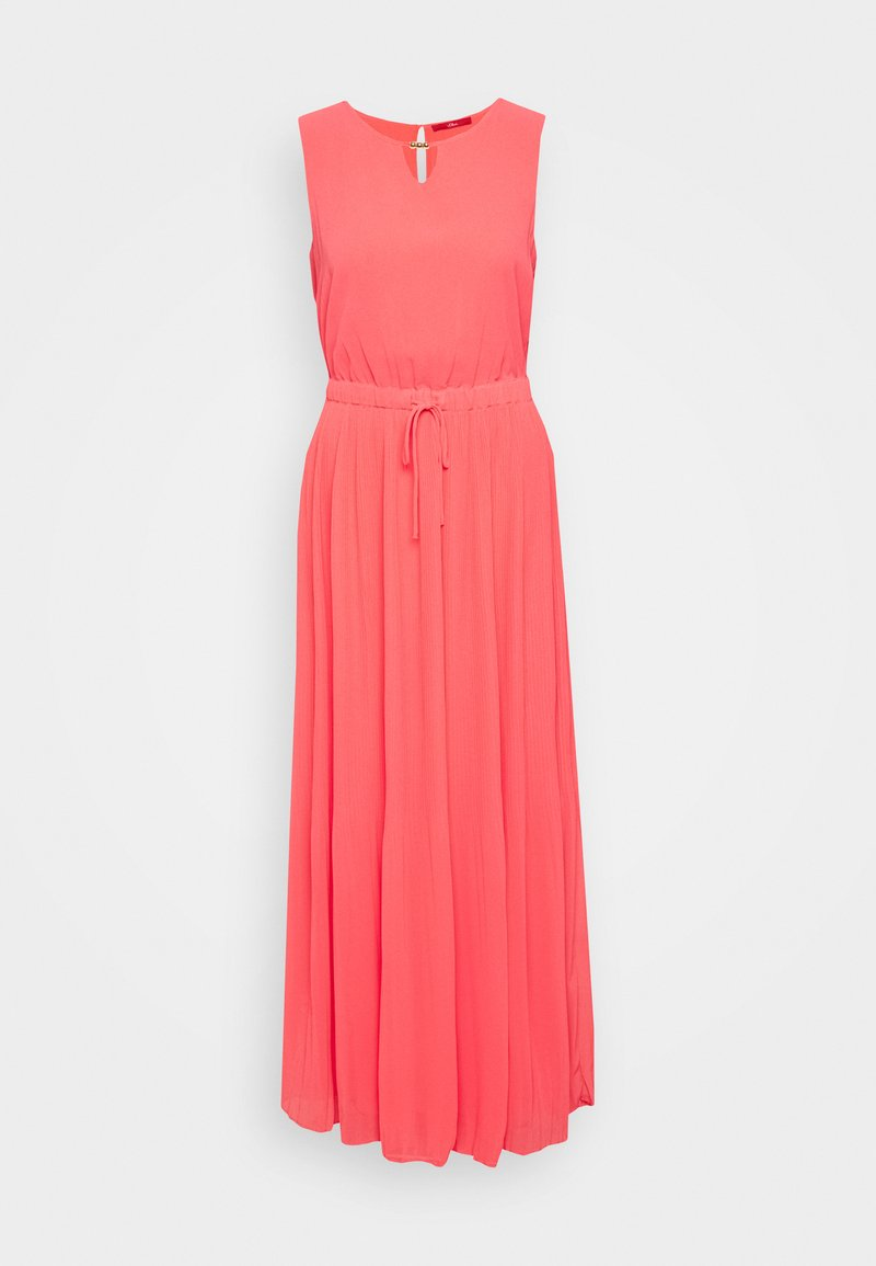 s.Oliver - LANG - Maxi dress - coral red