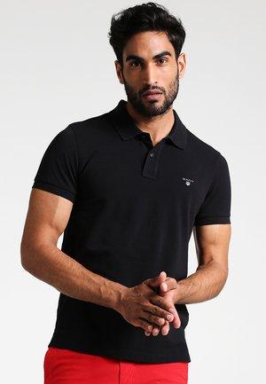 ORIGINAL SLIM RUGGER - Polo shirt - black