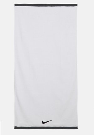 FUNDAMENTAL TOWEL UNISEX - Strandaccessoire - white/black