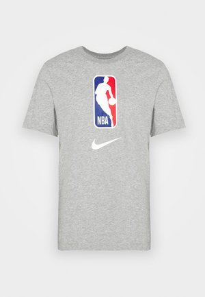 NBA DRY TEE - T-shirt z nadrukiem - dark grey heather