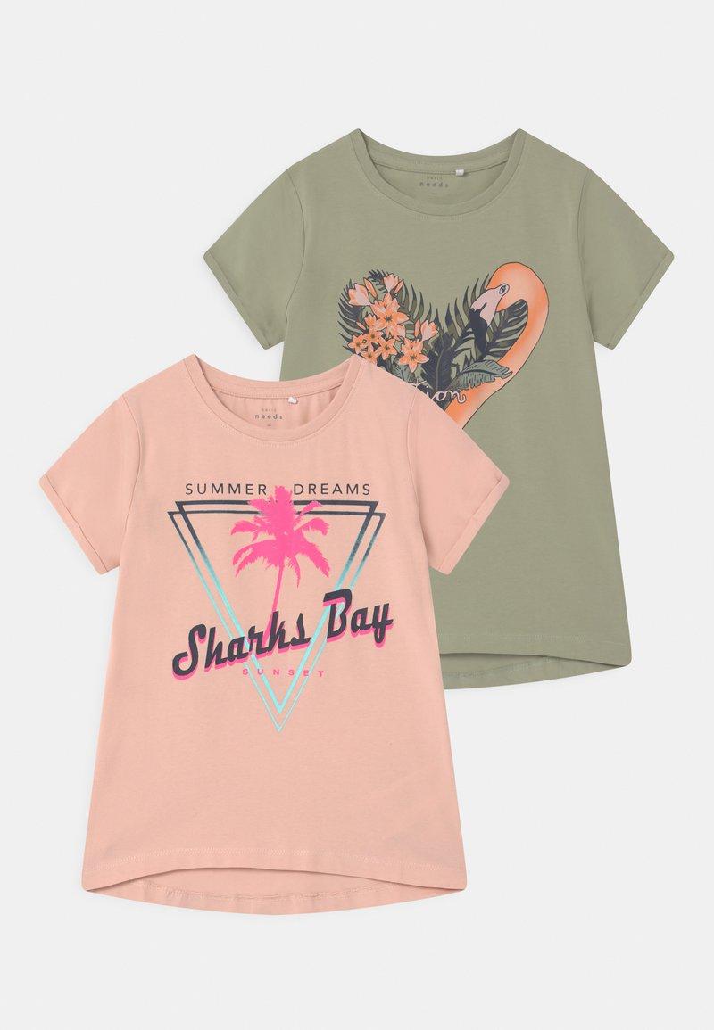 Name it - NKFVIX 2 PACK - Print T-shirt - peach whip