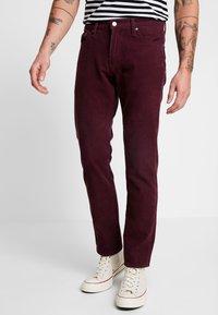 Levi's® - 511™ SLIM FIT - Trousers - winetasting warp - 0