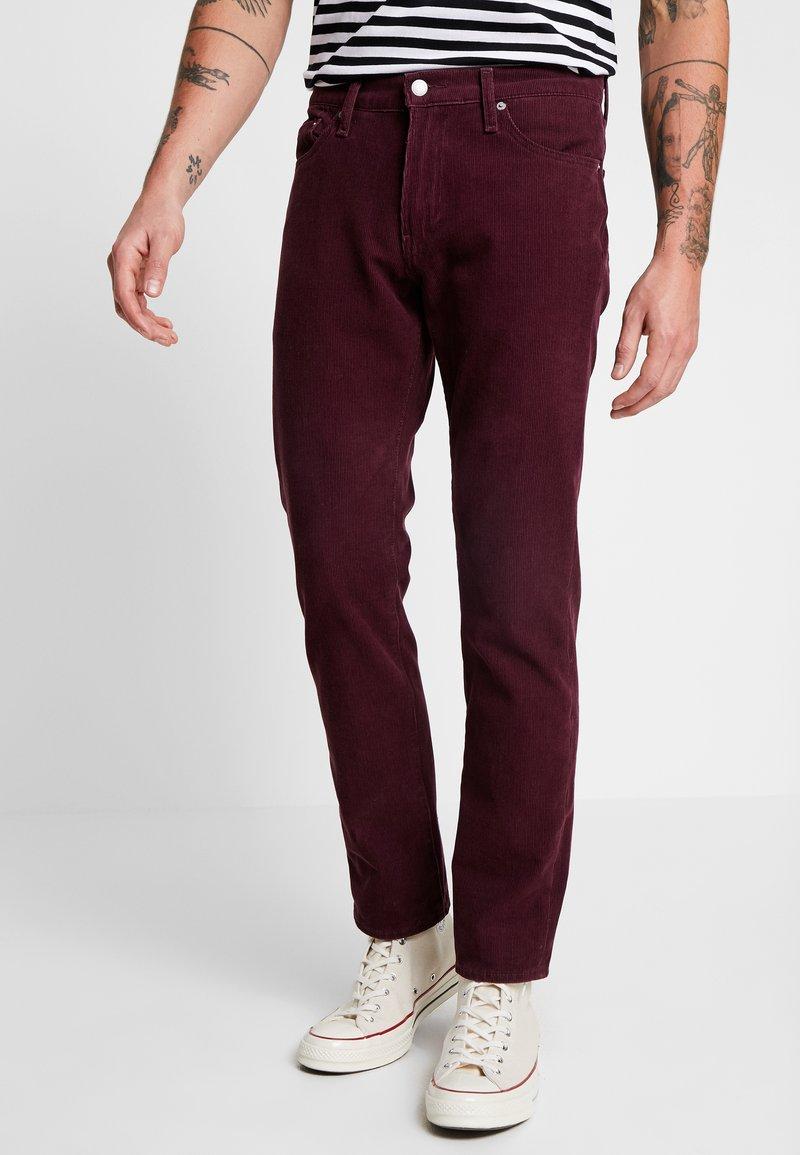 Levi's® - 511™ SLIM FIT - Trousers - winetasting warp