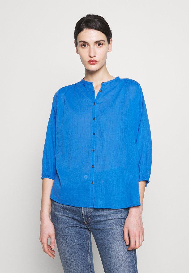 CLOSED - CHERRY - Button-down blouse - bluebird