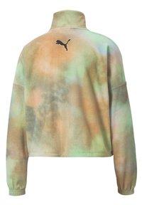 Puma - EVIDE PRINTED - Fleece jacket - puma white - 4