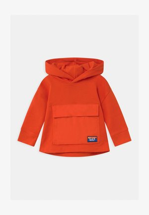 TODDLER BOY HOOD - Sweater - grenadine orange