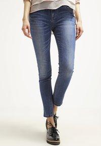 Morgan - Jeans Skinny - jean stone - 0