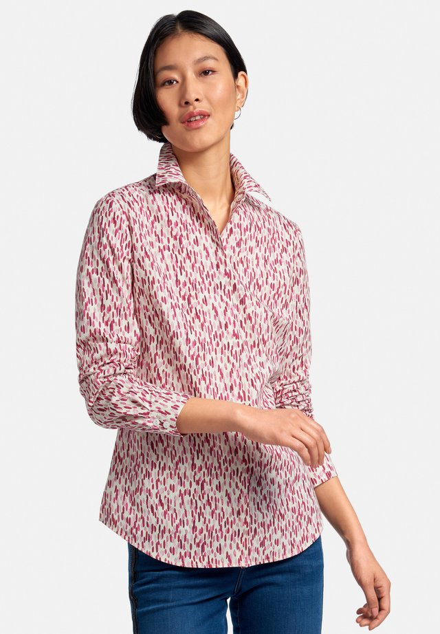 Skjortebluser - ecru/pink/multicolor