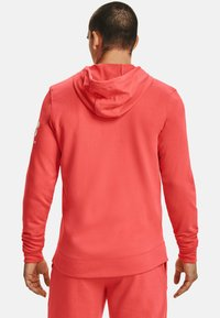 Under Armour - RIVAL TERRY - Sweater met rits -  red - 2