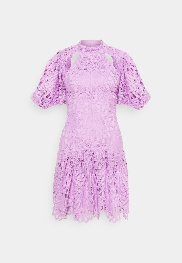 THE COSMIC MINI DRESS - Robe de soirée - lilac