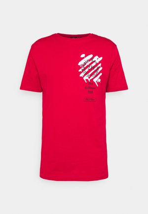 WEST TEE - Print T-shirt - red