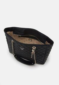 Guess - CESSILY TOTE - Handbag - black - 2