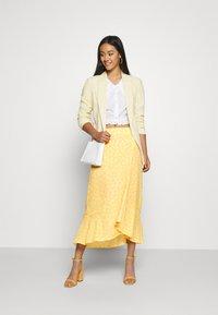 Monki - LANE SKIRT - Maxi sukně - yellow - 1