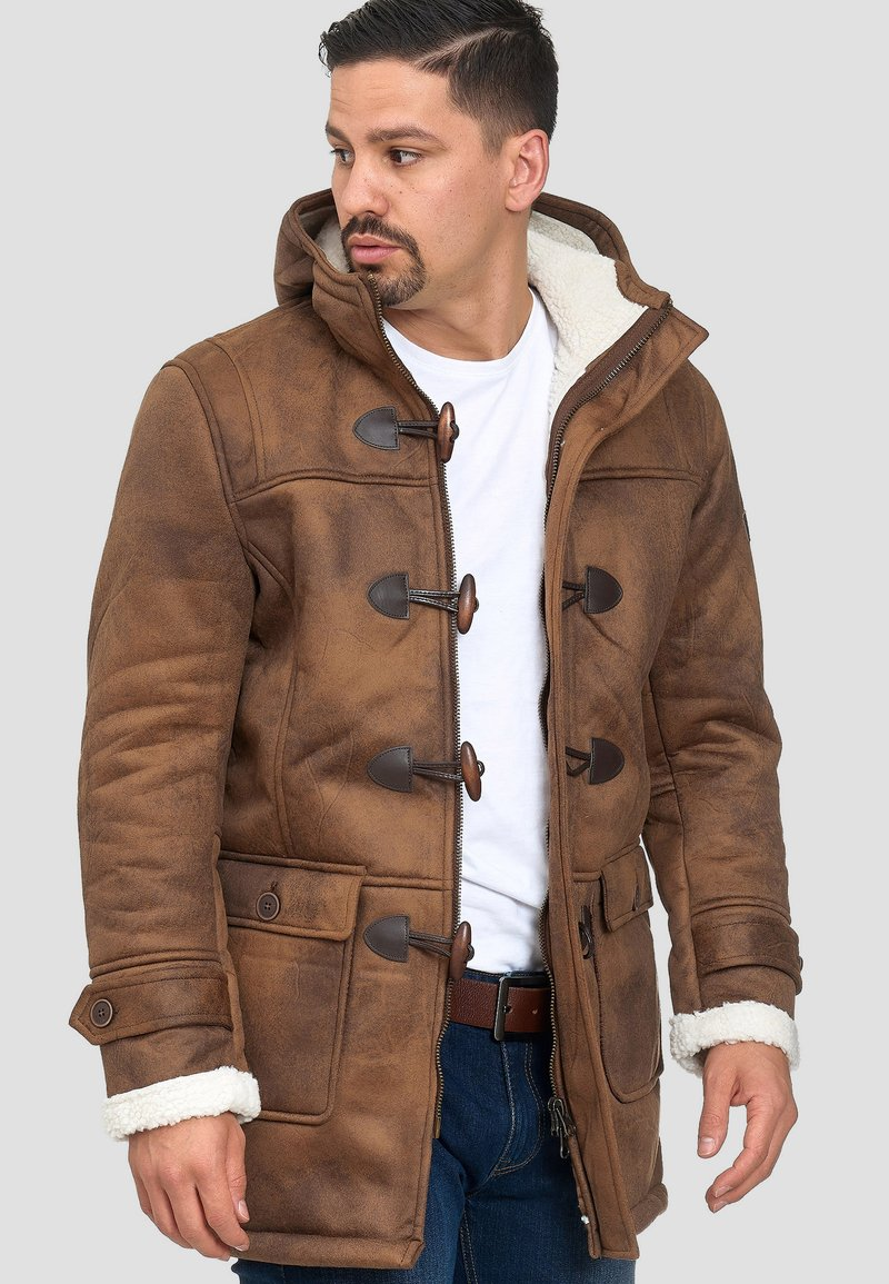 INDICODE JEANS - Winter coat - brown sugar