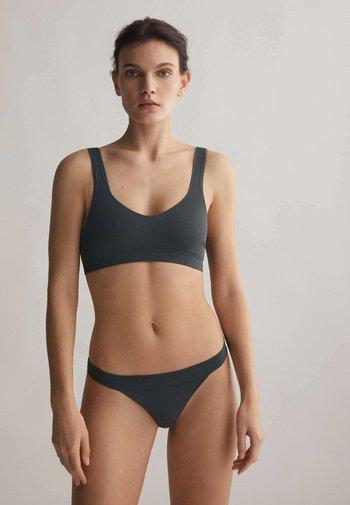 SEAMLESS COMFORT  - Bustier - dark grey