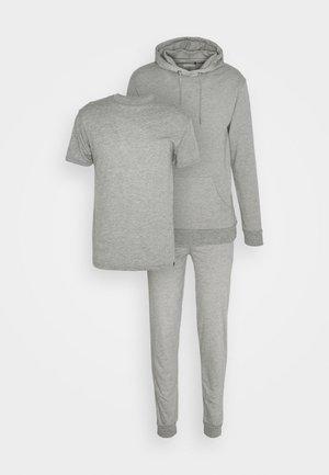 CORE LOUNGE SET - T-shirts basic - grey marl