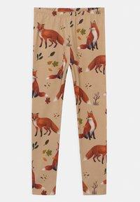 Walkiddy - FOXES UNISEX - Leggings - Trousers - beige - 0