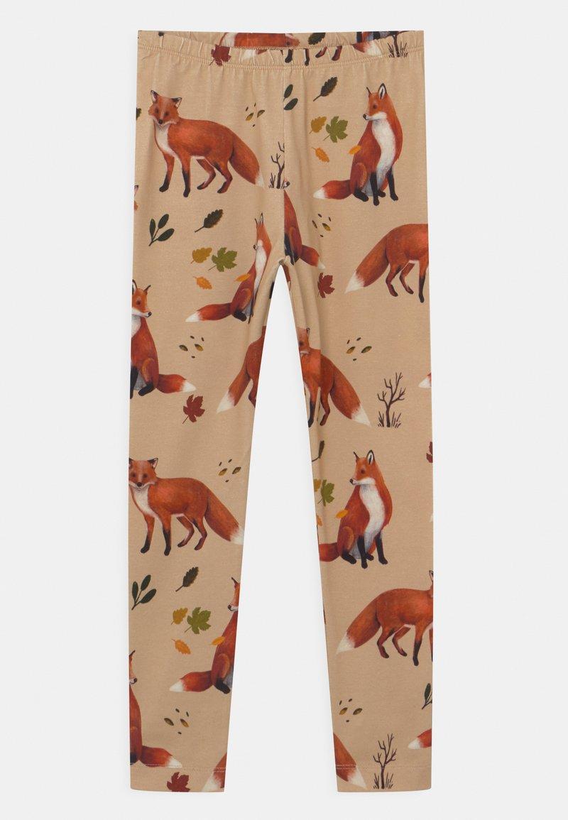 Walkiddy - FOXES UNISEX - Leggings - Trousers - beige