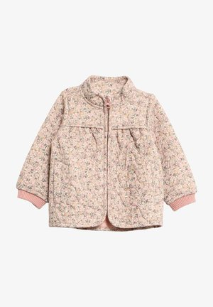 Light jacket - eggshell flowers