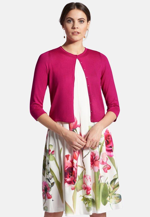 MIT 3/4-ARM - Cardigan - pink