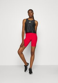 Nike Performance - AIR TANK - Camiseta de deporte - black/volt - 1