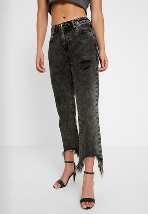 WASHED OUT VOODOOCHILD - Jeans straight leg - black
