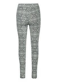 Kaffe - KAPAPPI  - Leggings - Trousers - black/white paisley print - 3