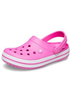 Pantolette flach - pink