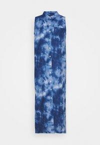 GAP Petite - DRESS MAXI TIE DYE - Maxi dress - blue - 0