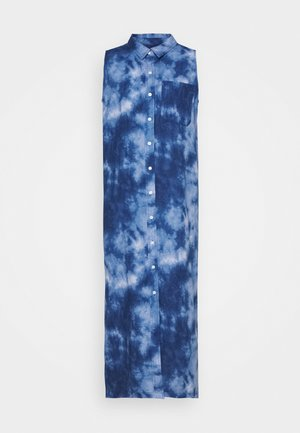 DRESS MAXI TIE DYE - Maxiklänning - blue