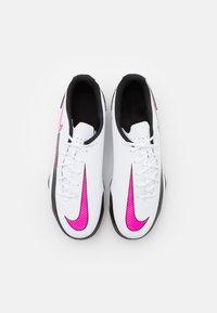 Nike Performance - PHANTOM GT CLUB FG/MG - Kopačky lisovky - white/pink blast/black - 3