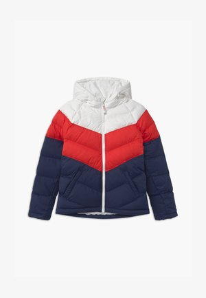 UNISEX - Winter jacket - white/university red/midnight navy