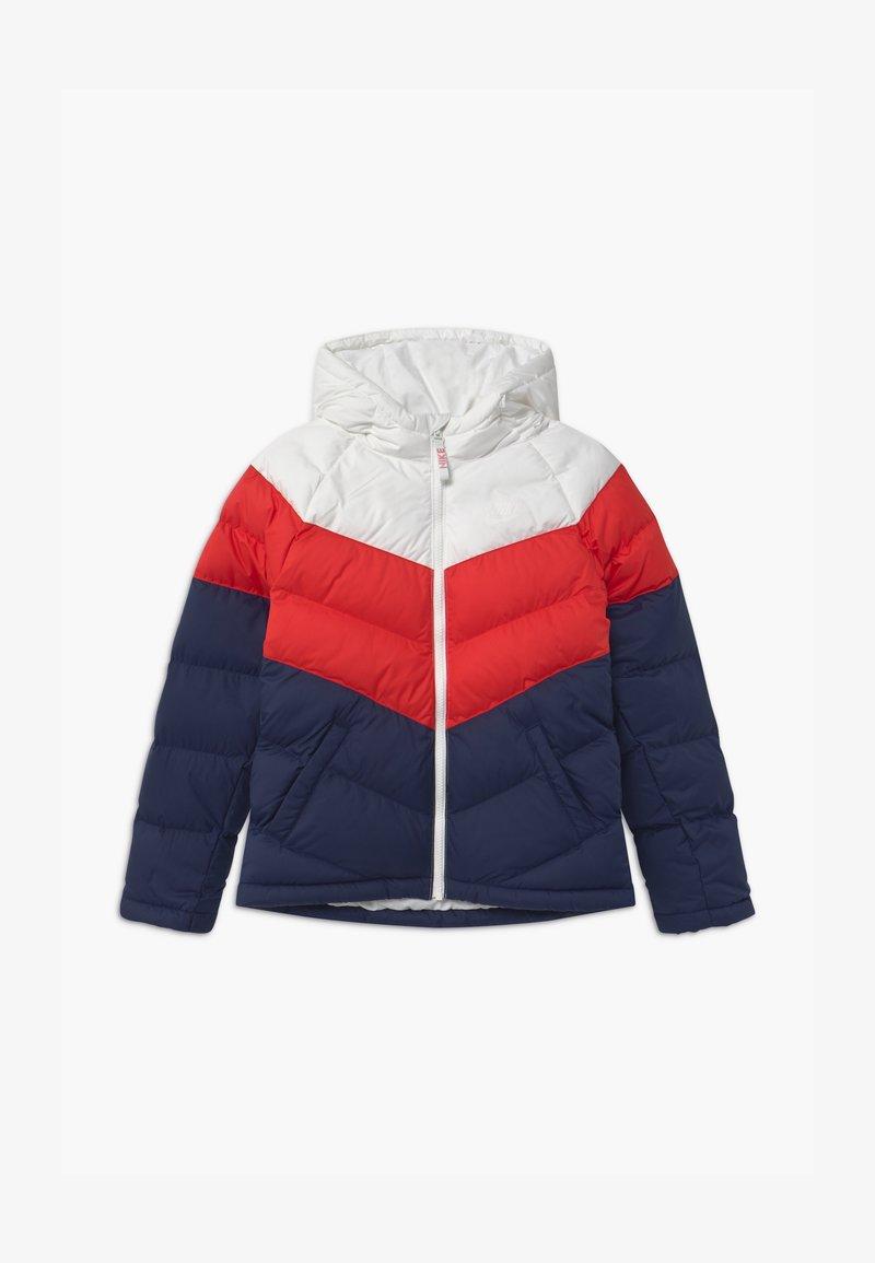Nike Sportswear - UNISEX - Winter jacket - white/university red/midnight navy