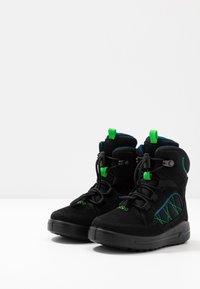 ECCO - URBAN SNOWBOARDER - Winter boots - black/poseidon - 3