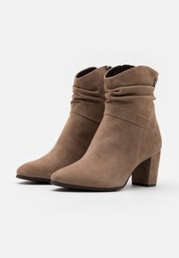 Marco Tozzi by Guido Maria Kretschmer - Classic ankle boots - taupe - 2
