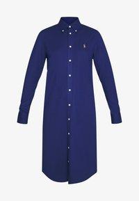 Polo Ralph Lauren - OXFORD - Shirt dress - holiday navy - 6