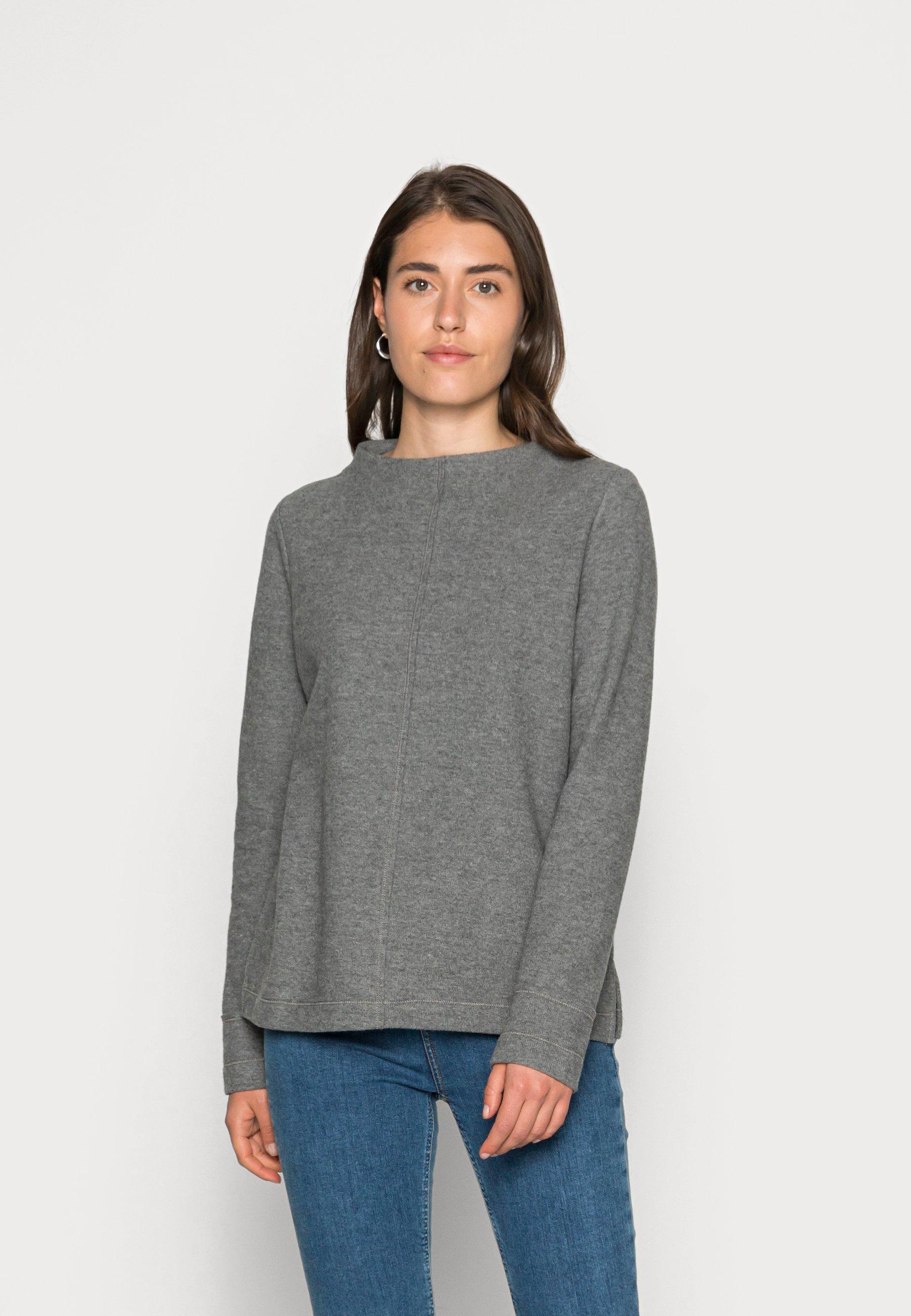 Women Sweatshirt - gunmetal