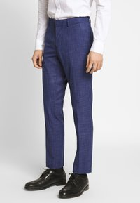 Isaac Dewhirst - TEXTURE SUIT - Completo - blue - 1