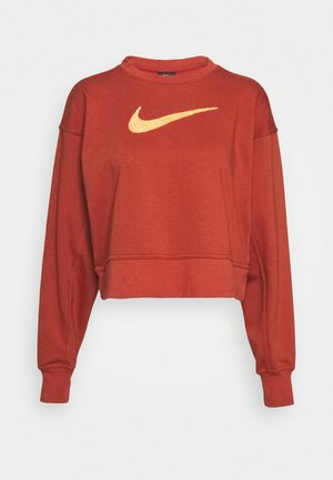 DRY GET FIT CREW - Sweater - firewood orange