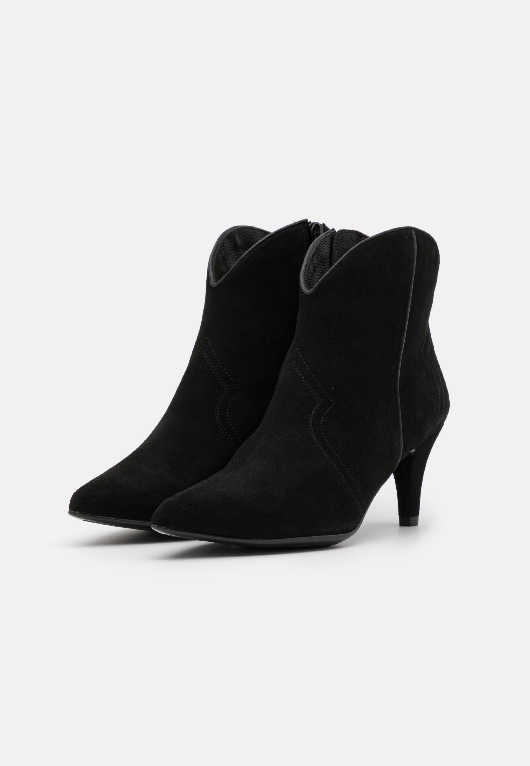 Unisa KAITLYN Ankle Boot black/schwarz