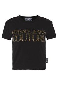 Versace Jeans Couture - LADY - T-shirt imprimé - black/gold - 0