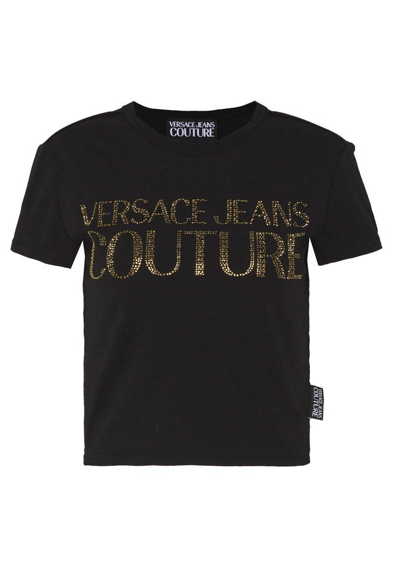 Versace Jeans Couture - LADY - T-shirt imprimé - black/gold