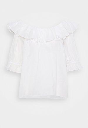 ELON THINKTWICE - Longsleeve - bright white