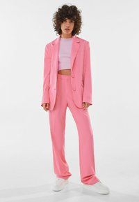 Bershka - Short coat - pink - 1