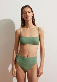 OYSHO - Bikini bottoms - green - 1